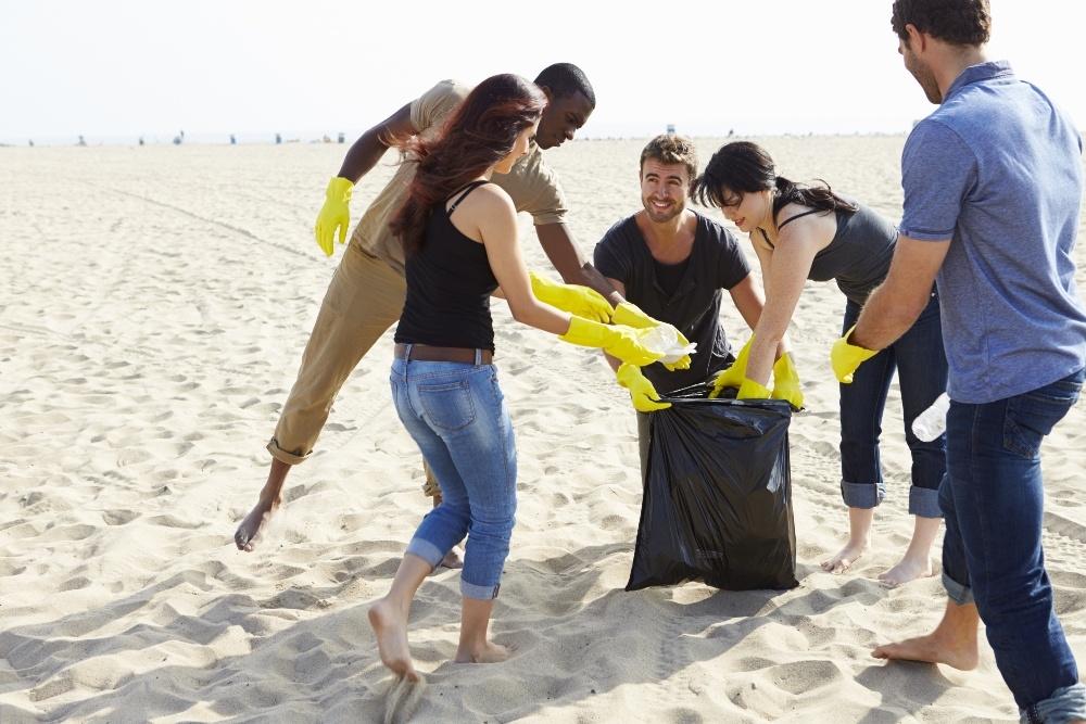 Beach Clean Up Community Service